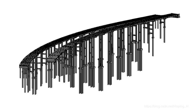 Revit结合Dynamo建立某大桥下部结构-桩基础