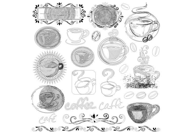 中式欧式图案花纹CAD图块