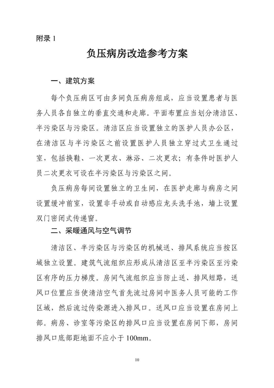 新型冠状病毒肺炎应急救治设施设计导则(试_10