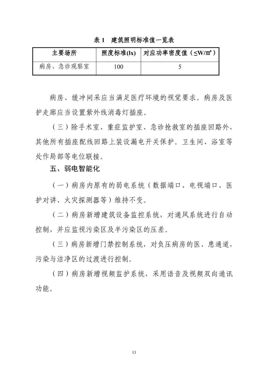 新型冠状病毒肺炎应急救治设施设计导则(试_13