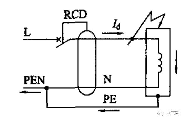 RCD的三种错误接线方式分析_3