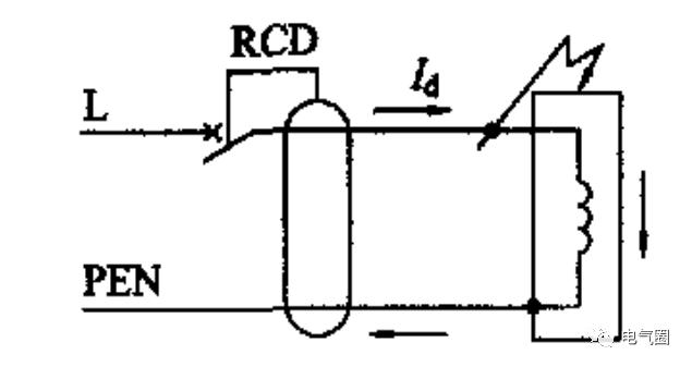 RCD的三种错误接线方式分析_2