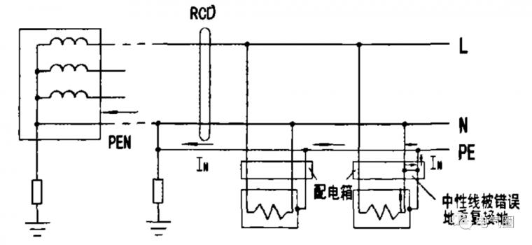 RCD的三种错误接线方式分析_5