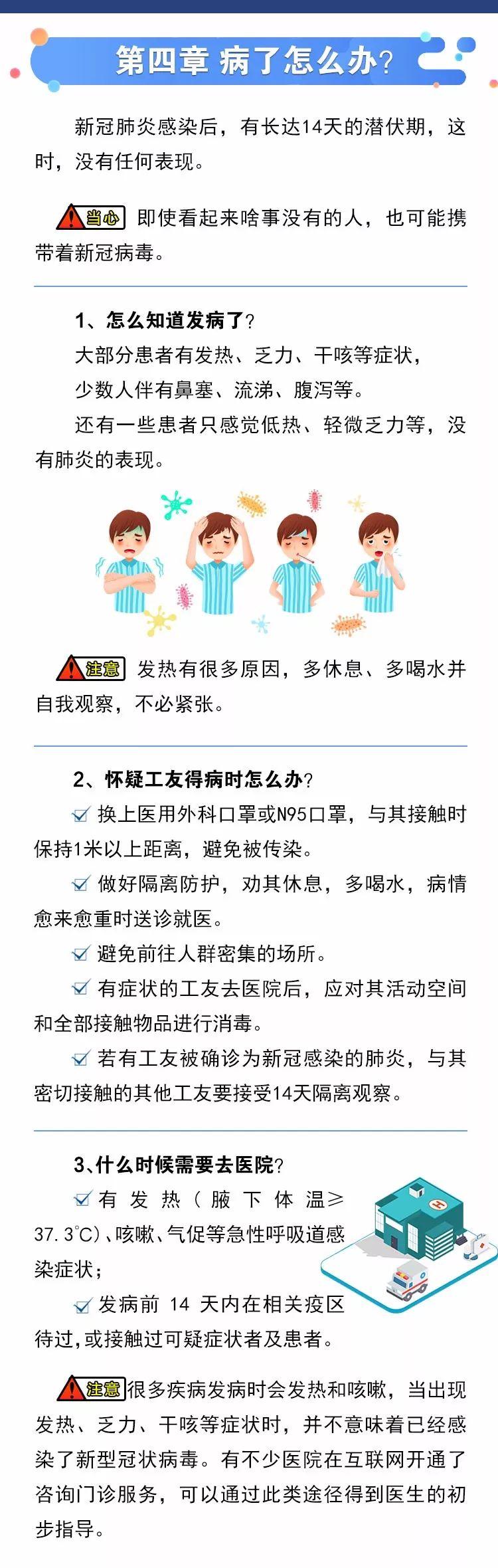 建筑工地一线技工新冠肺炎应急防控知识手册_5