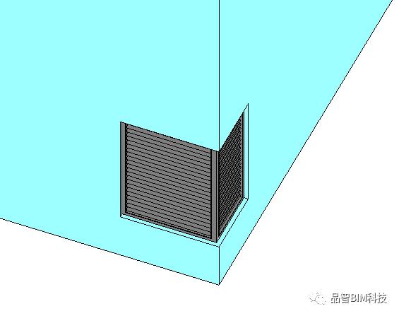 Revit中L型转角窗族绘制_7
