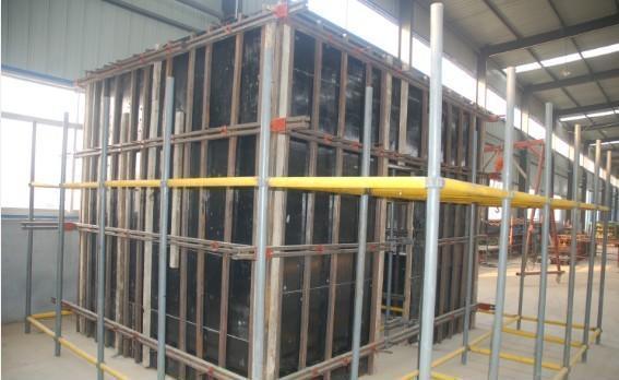 钢支撑模板加固体系应用及缺陷防治