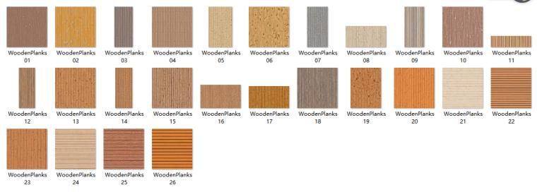 木板类材质贴图