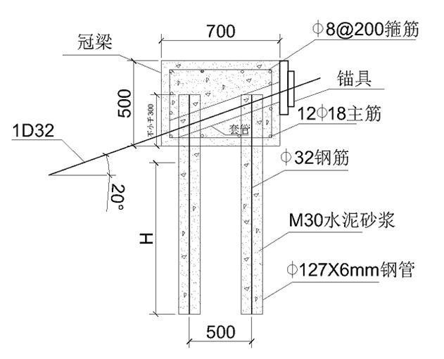 微型钢管桩