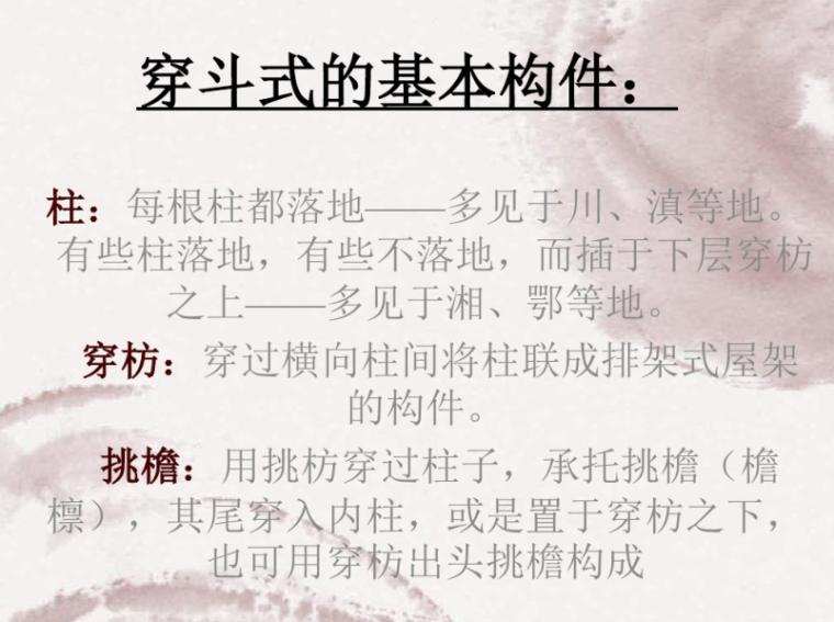 中国古建筑构架的详解2