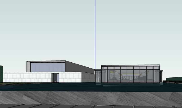 融创杭州示范区建筑方案SU模型