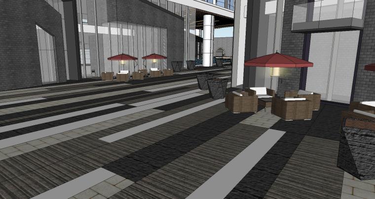 南京国际金融中心·汉中公馆投标建筑模型 (2)