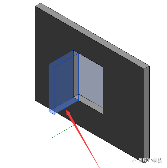 Revit中L型转角窗族绘制_4