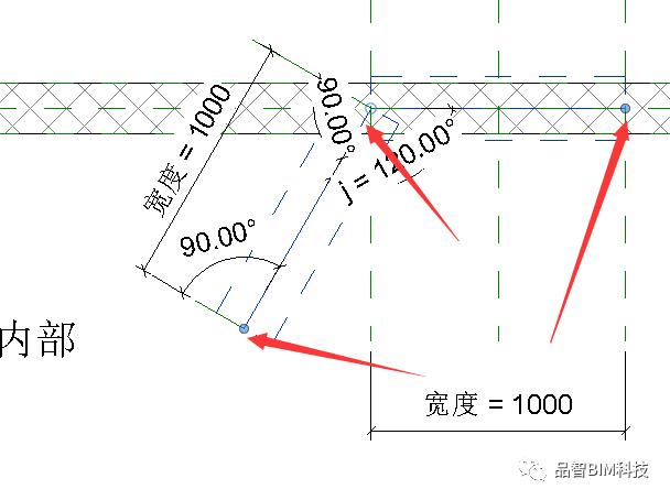 Revit中L型转角窗族绘制_2