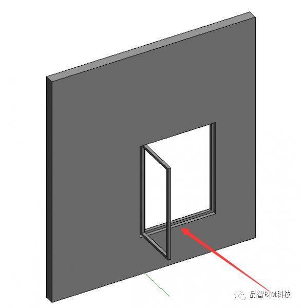 Revit中L型转角窗族绘制_5