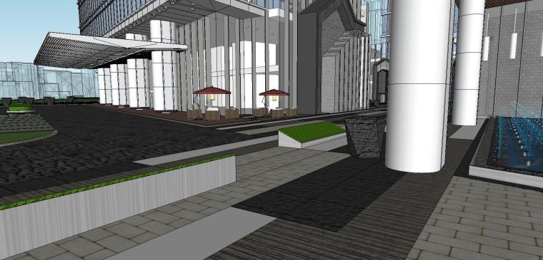南京国际金融中心·汉中公馆投标建筑模型 (6)