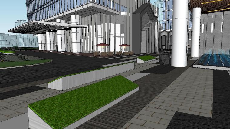 南京国际金融中心·汉中公馆投标建筑模型 (8)