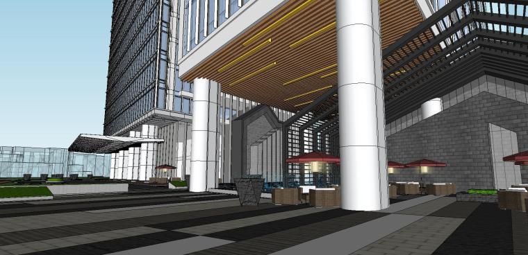 南京国际金融中心·汉中公馆投标建筑模型 (9)