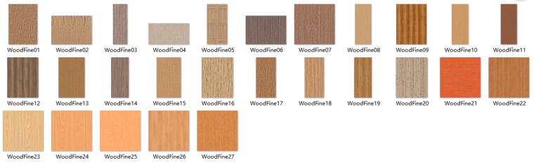 木纹类材质贴图