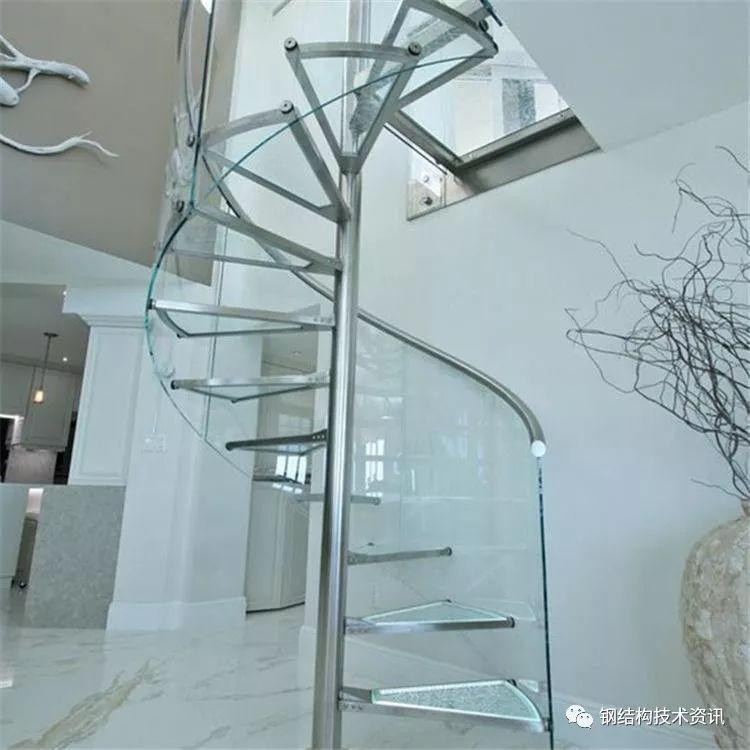 钢结构螺旋楼梯设计施工