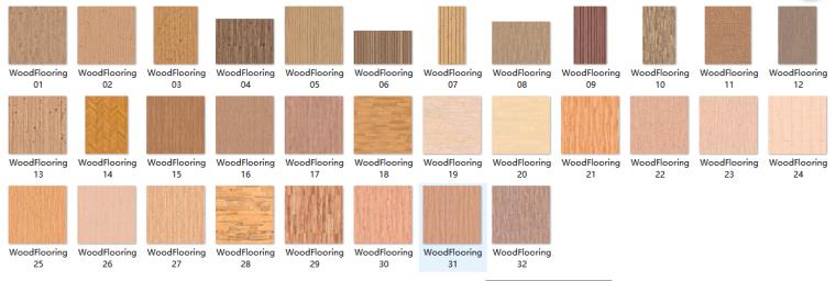木地板类材质贴图