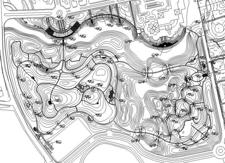 [江苏]洋山湖郊野公园景观施工图设计