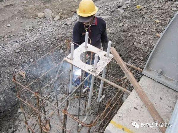 钢结构中的预埋螺栓技术!