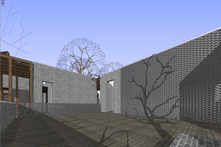 知名地产中式风格居住区建筑模型设计 (2)