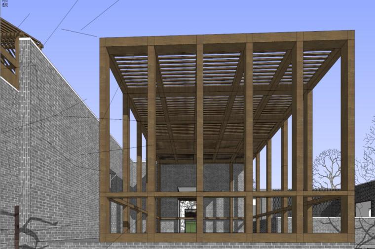 知名地产中式风格居住区建筑模型设计 (3)