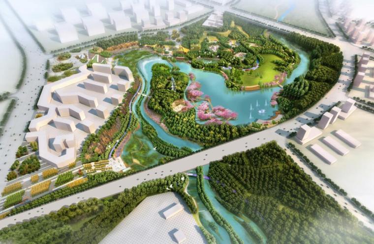 [山西]生态涝洰河康乐园景观设计