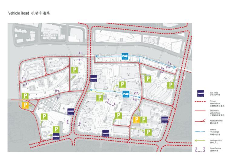景观常规分析图+交通分析图 (1)