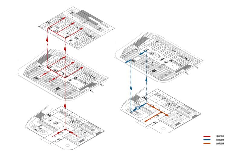 景观常规分析图+竖向分析图 (1)