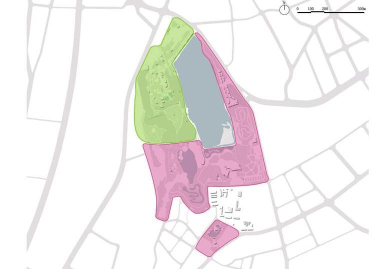 [新疆]水上乐园综合公园景观概念设计-建设用地规划设计图