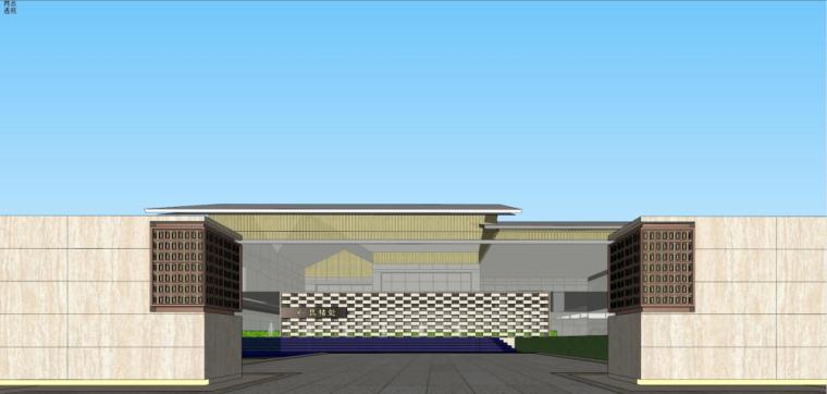 [湖南]新古典风格示范区建筑模型设计-新古典风格示范区建筑模型设计 (4)