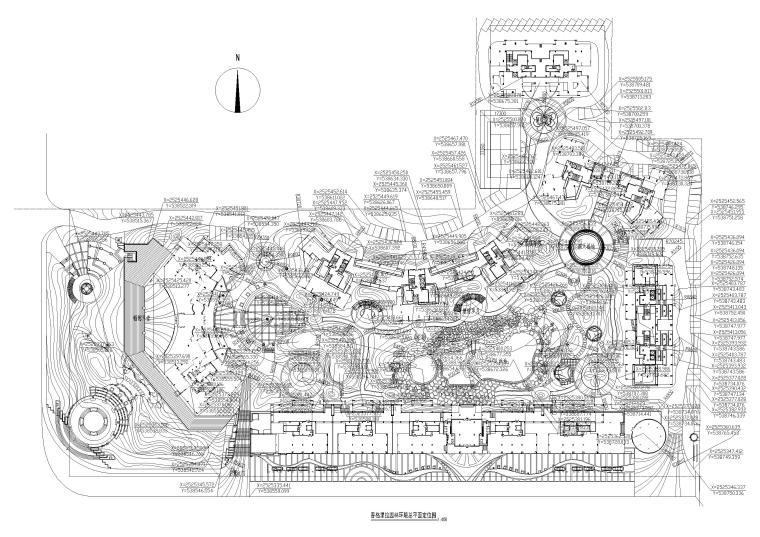 [广西]香格里拉园林环境景观工程施工图
