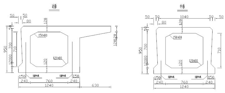 空心板桥横向分布系数案例详解,一次性搞懂_2