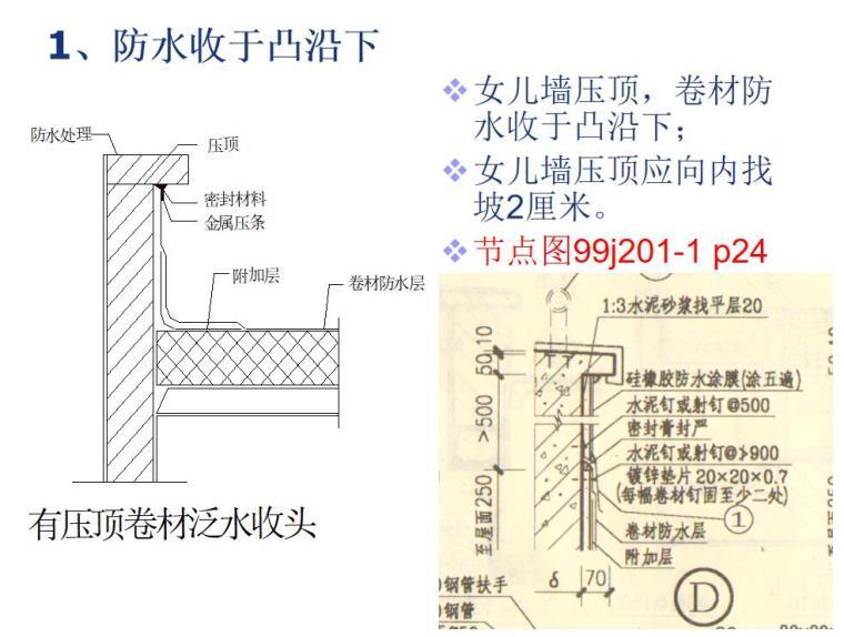 屋面装修细部做法-54p-屋面装修细部做法 (6)