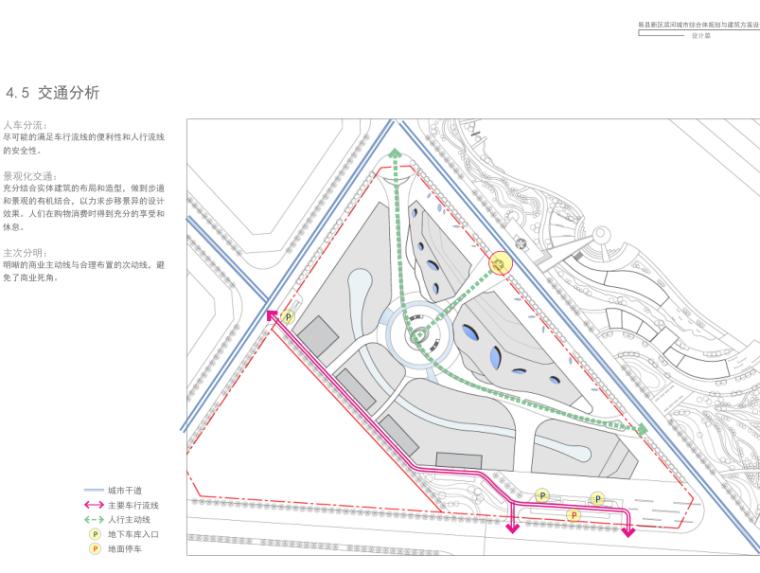 易县新区滨河城市综合体规划与建筑方案文本-交通分析''