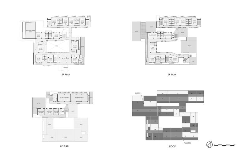 """五彩斑斓,互相嵌套的""""山坡'幼儿园-m3 _HOP_Plan.jpg"""