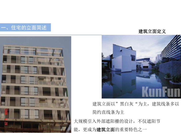 住宅户型设计与项目立面的关联度分析47p-建筑立面定义