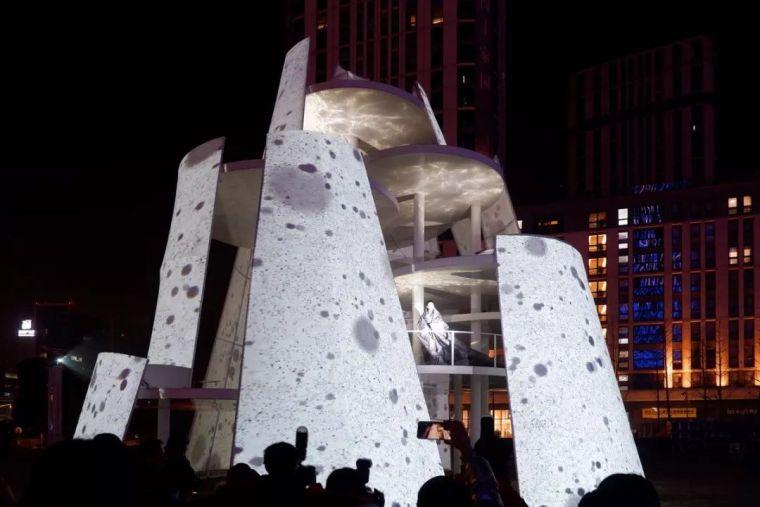 市政景观建筑装置设计:南京时间塔/钢结构_14