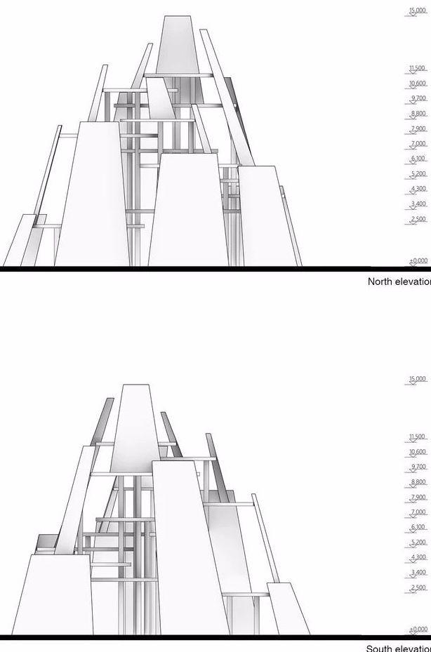市政景观建筑装置设计:南京时间塔/钢结构_25