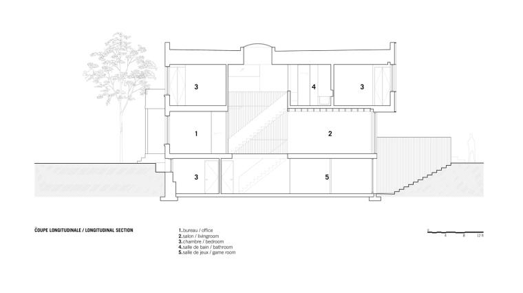 加拿大维多利亚住宅-ResidenceVictoria_Section