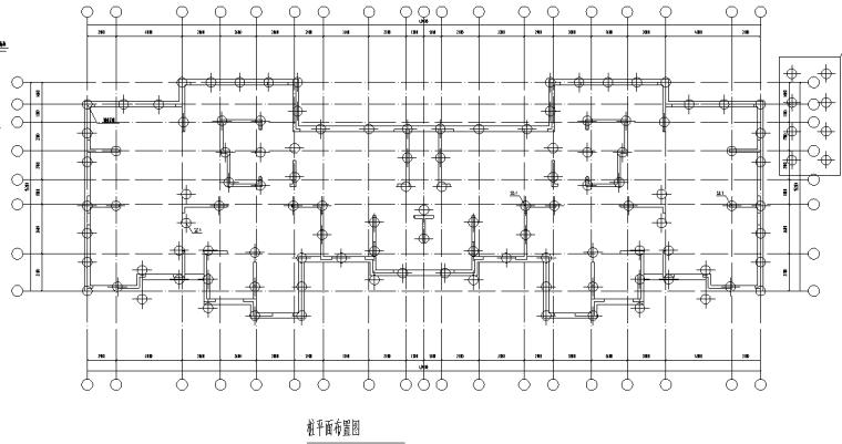 高层剪力墙结构住宅楼桩基图纸|含地勘报告