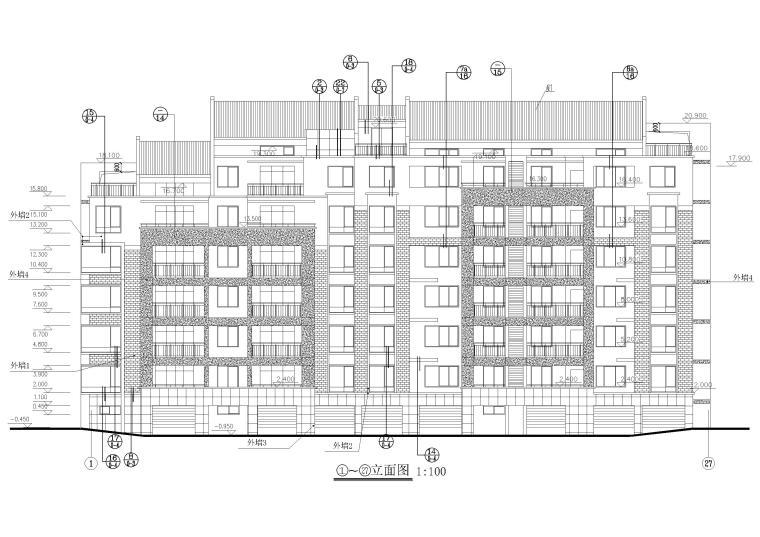 建筑立面图2