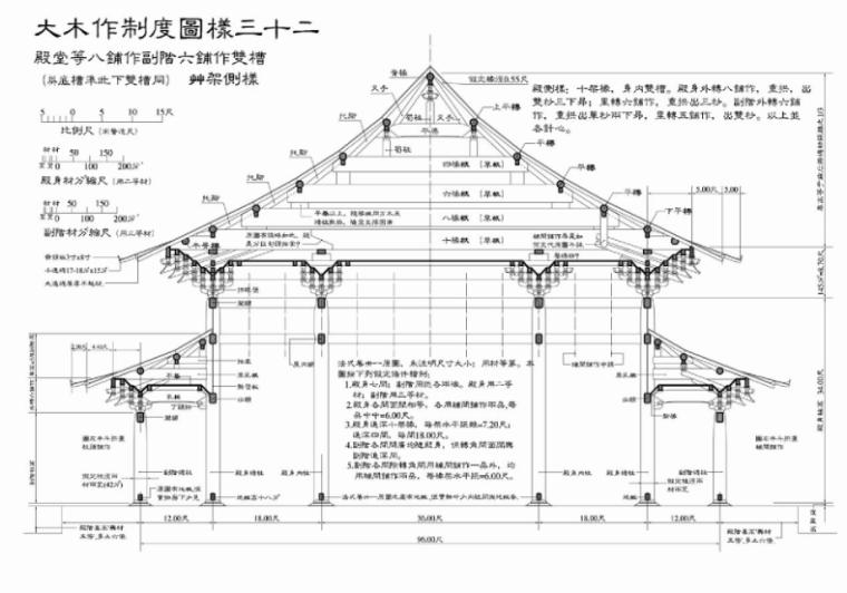 营造法式图样线稿_大木作制度图样6
