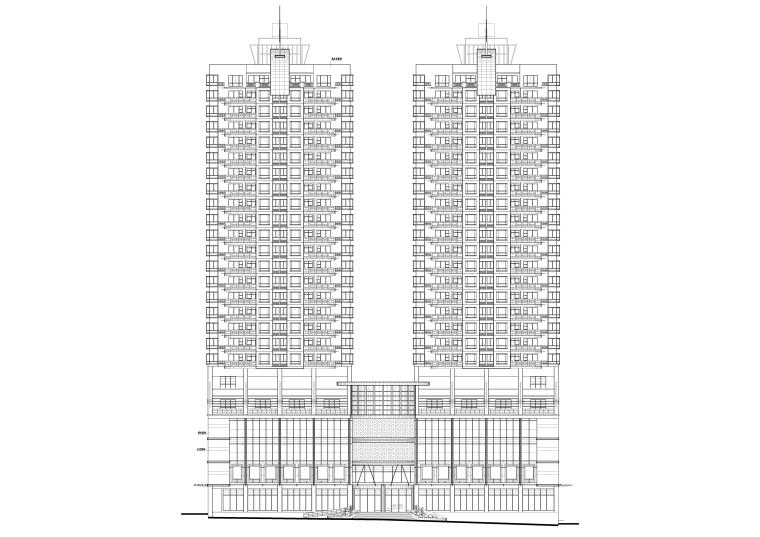 某高层住宅全套建筑施工图