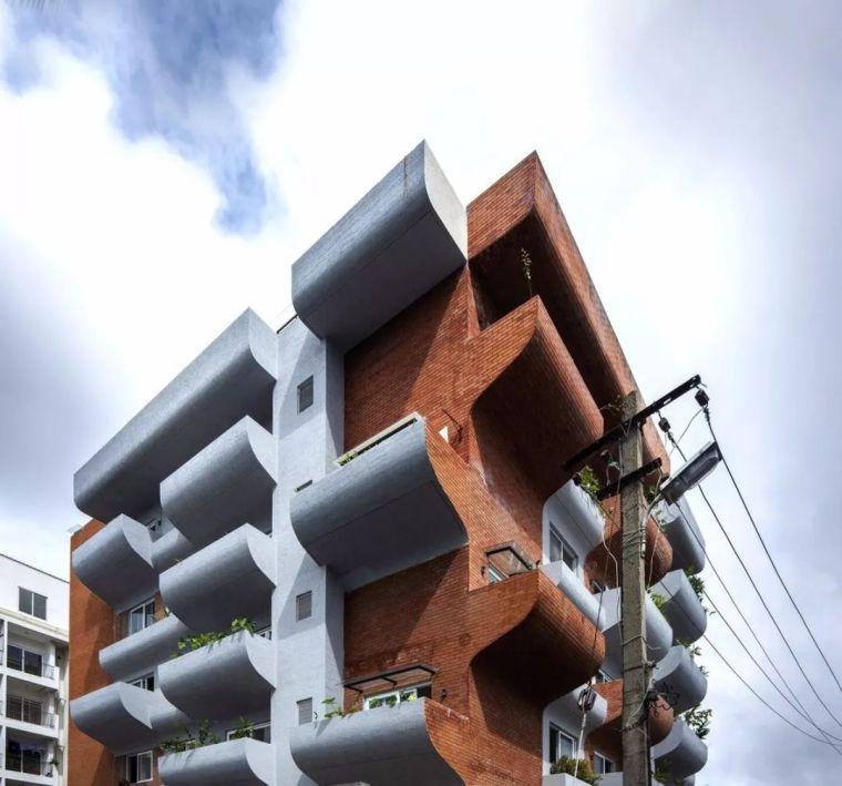 """多层住宅建筑设计:印度""""森林""""公寓/案例_3"""