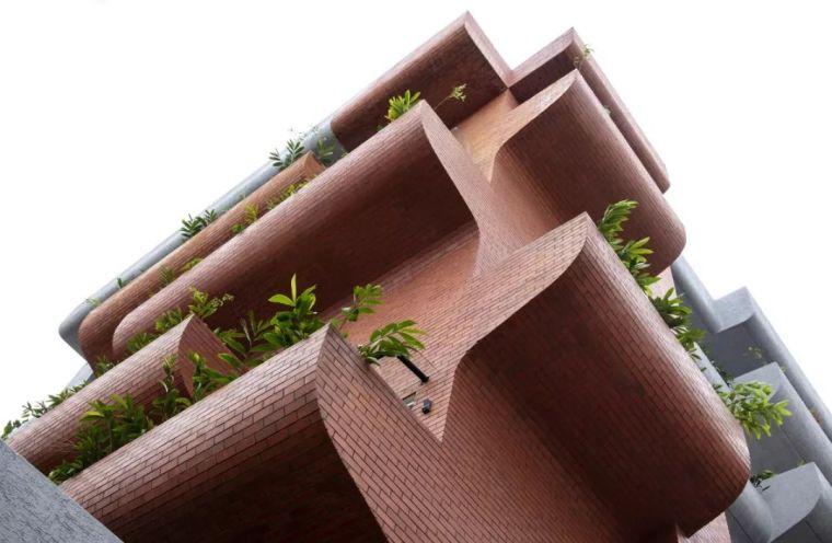 """多层住宅建筑设计:印度""""森林""""公寓/案例_8"""