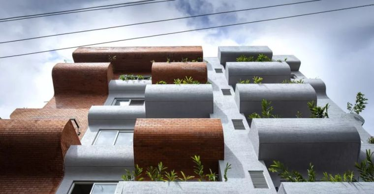 """多层住宅建筑设计:印度""""森林""""公寓/案例_12"""