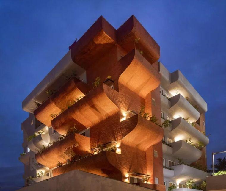 """多层住宅建筑设计:印度""""森林""""公寓/案例_18"""